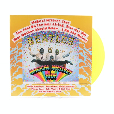 "The Beatles ""Magical Mystery Tour"" 1978 UK Pressing LP On Yellow Vinyl"