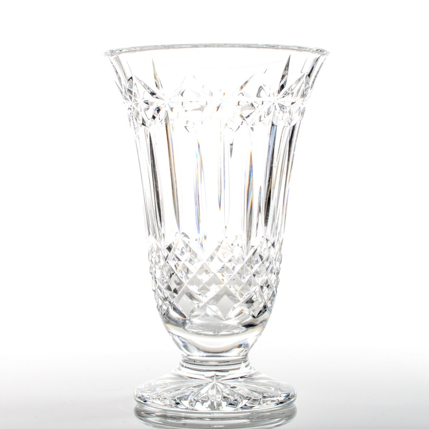 Waterford Balmoral Flower Vase Ebth