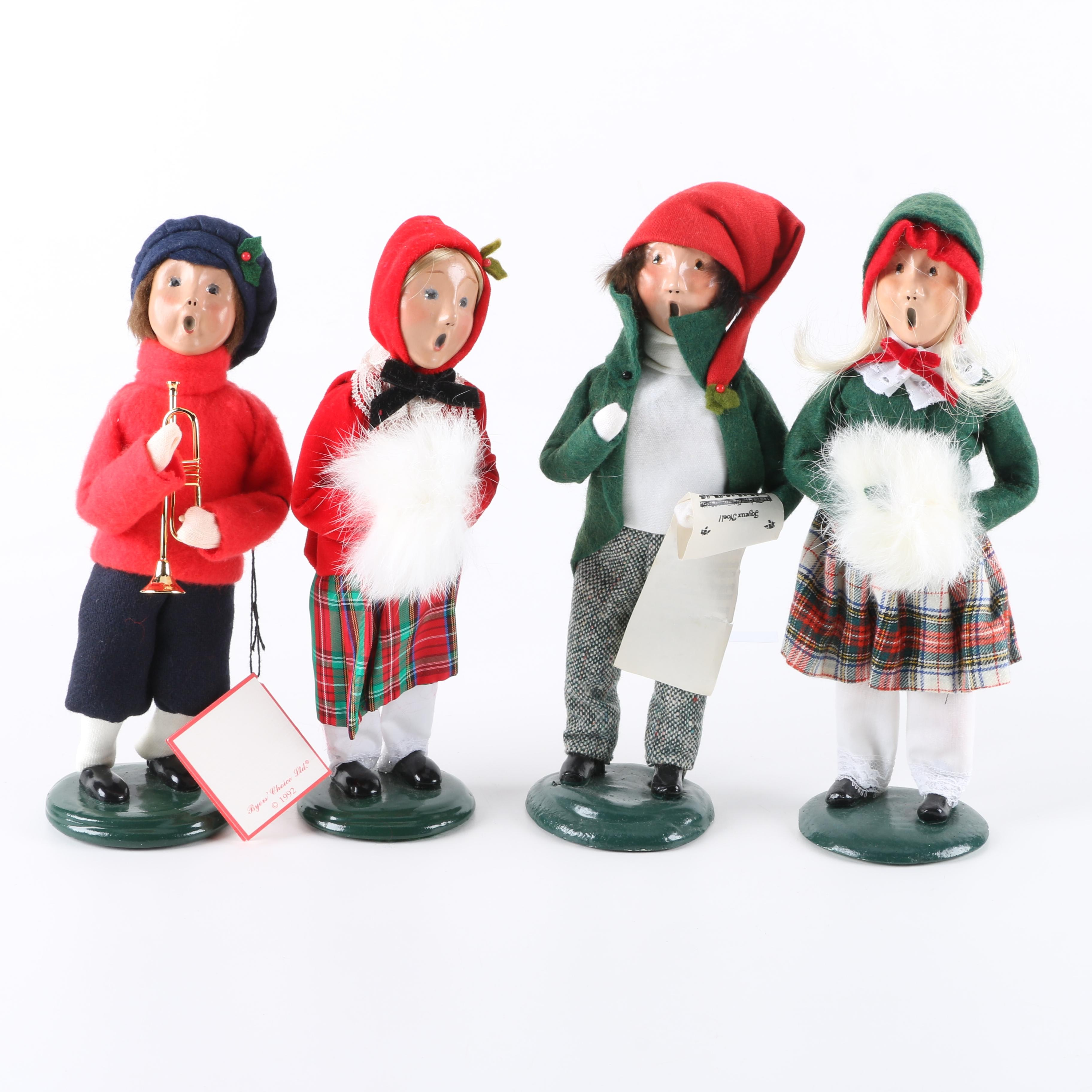 Byer's Choice Holiday Carolers Figurines