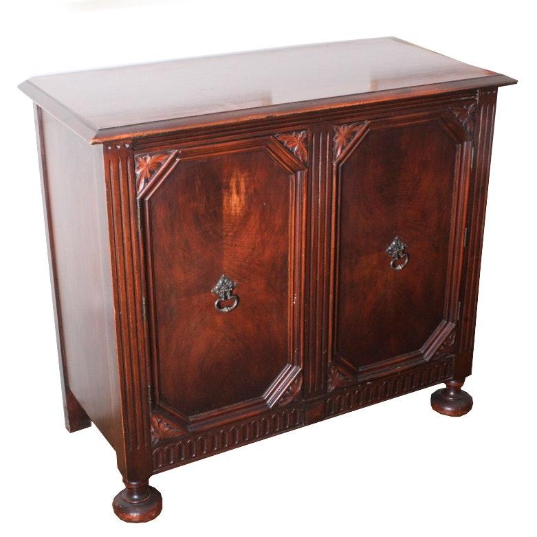 Jacobean Style Walnut Cabinet