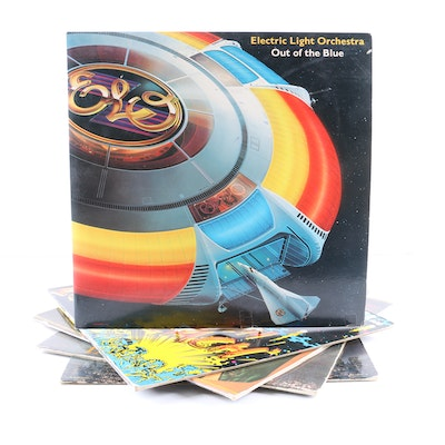"Electric Light Orchestra LPs Including ""Out of the Blue"""
