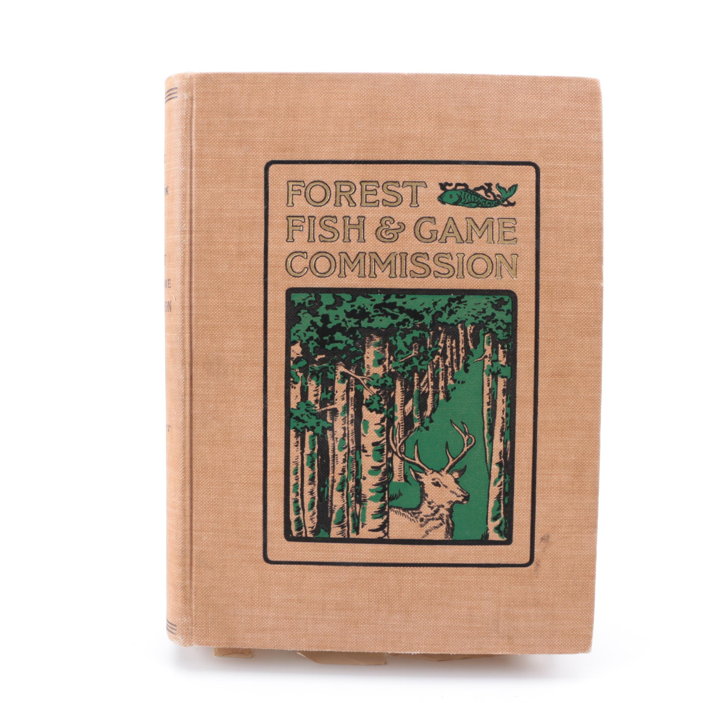 "1900 New York ""Forest Fish and Game Commission"" Report"