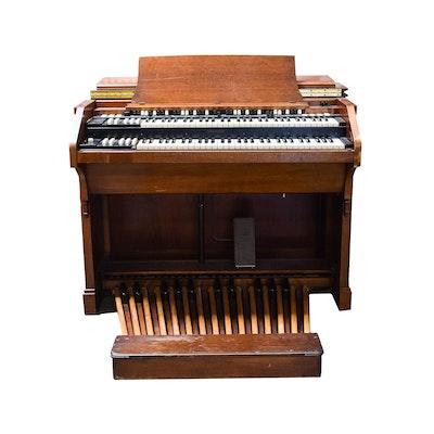 Vintage Hammond C-3 Console Organ