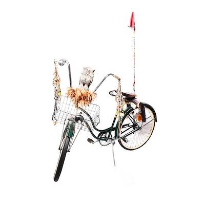 Vintage Customized Schwinn Spitfire Bicycle