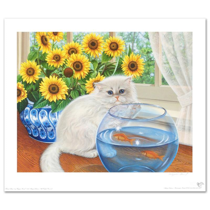 """""""Home Alone"""" Limited Edition Lithograph by Barbara Higgins-Bond"""