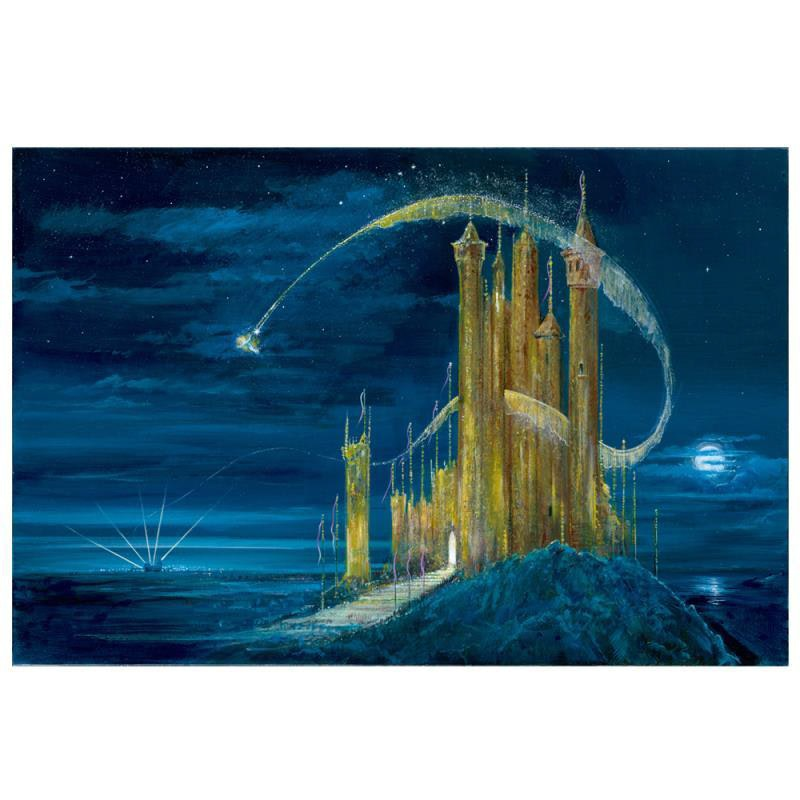 """""""Gold Castle"""" Limited Edition Giclee"""