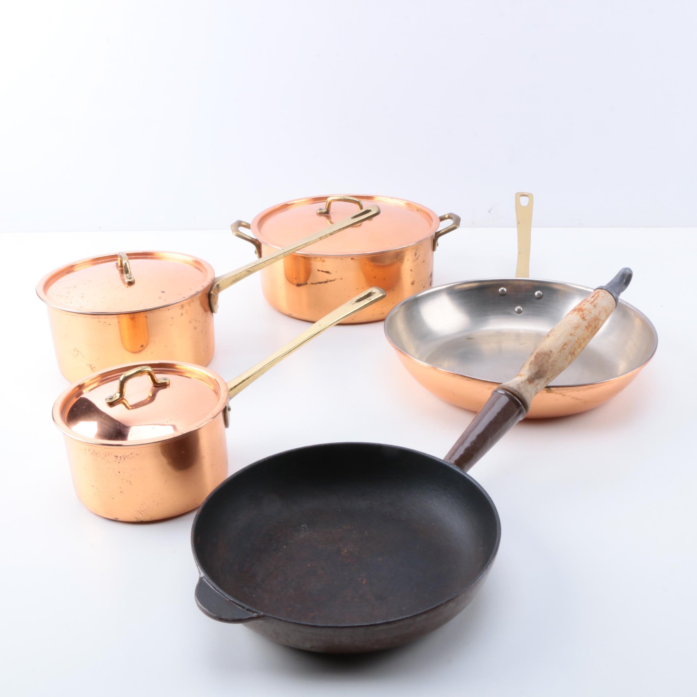 Copper Clad Cookware and Cousance's Saute Pan