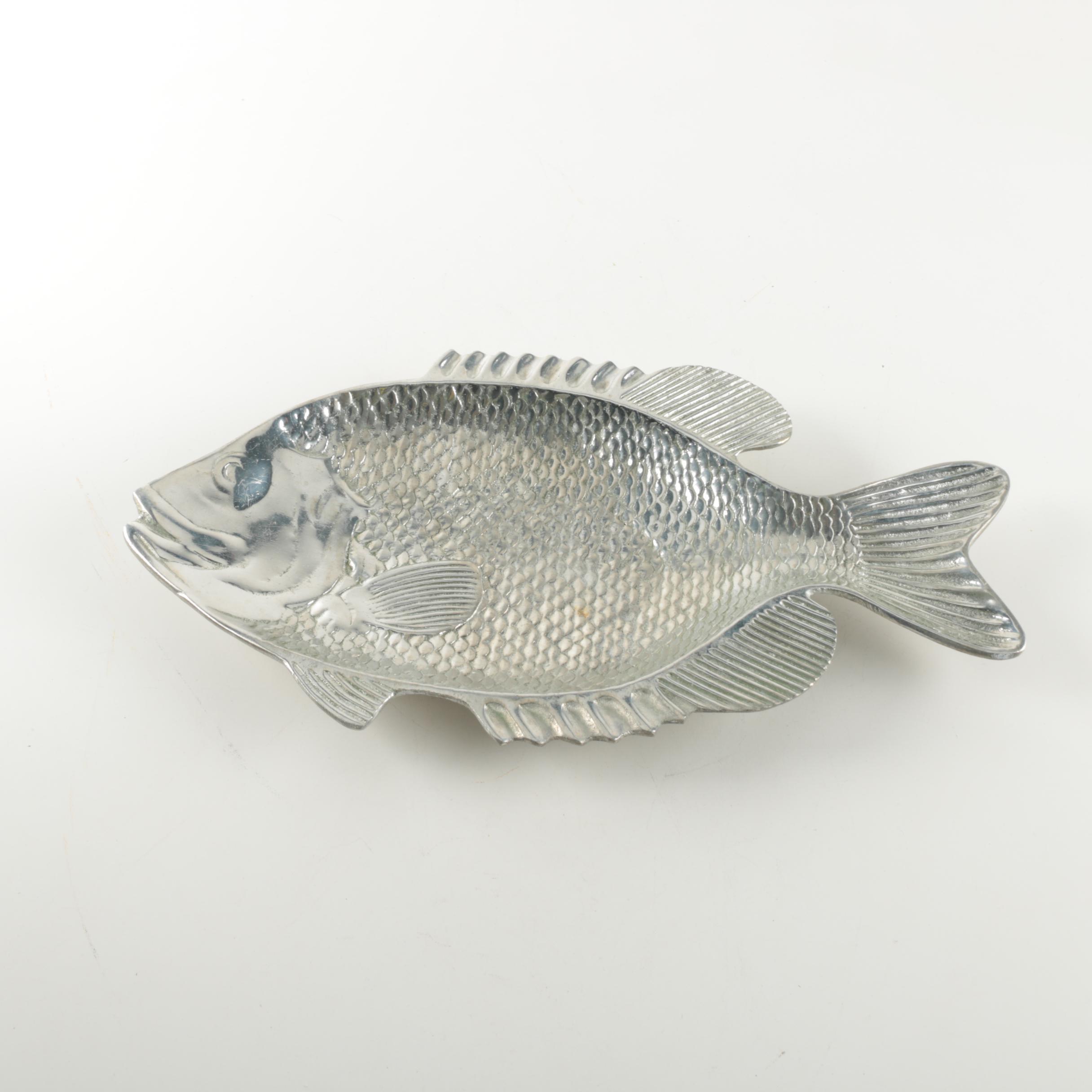 Metal Fish Platter