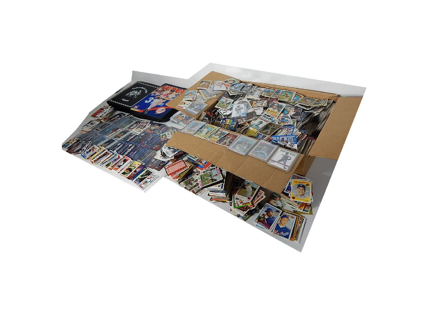 Large Assorted Sports Card Collection
