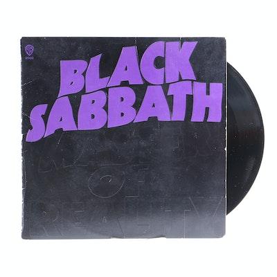 "Black Sabbath ""Master Of Reality"" Original US Pressing LP with Poster"