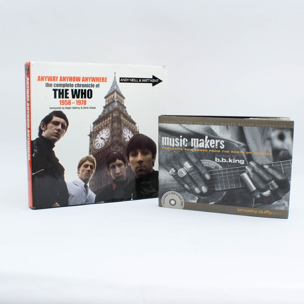 "Vintage ""The Who: 1958-1978"" and ""Music Makers: B.B. King"""