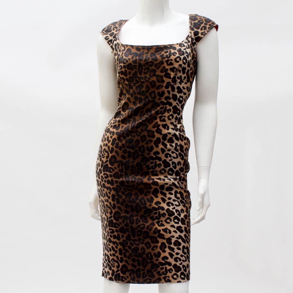 """Jessica Simpson"" Animal Print Dress"