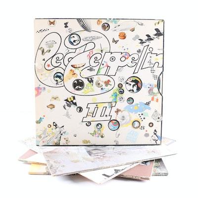 Led Zeppelin US Pressing LPs