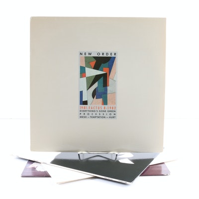 "New Order LPs Including ""Power, Corruption, & Lies"""