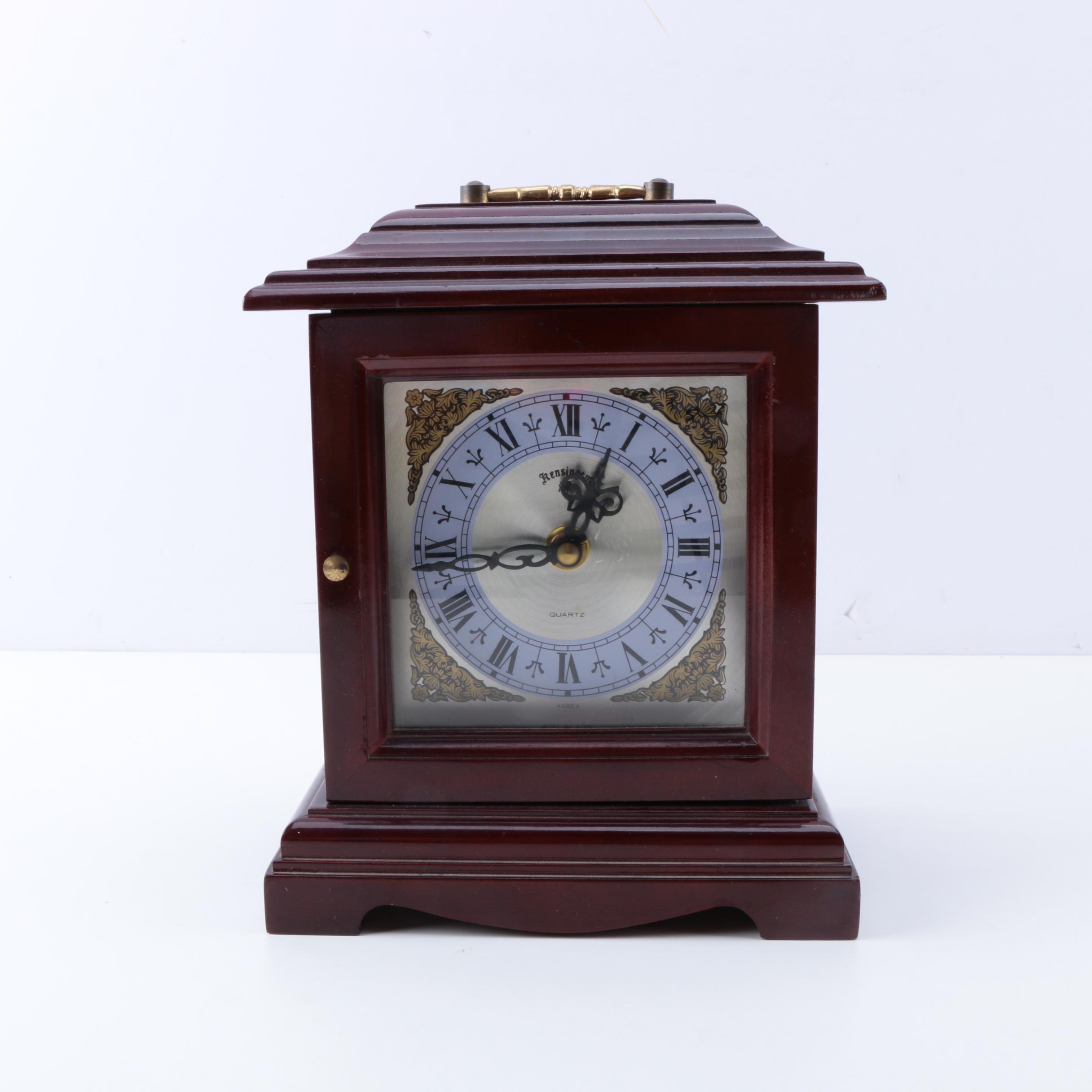 Kensington Quartz Carriage Style Clock