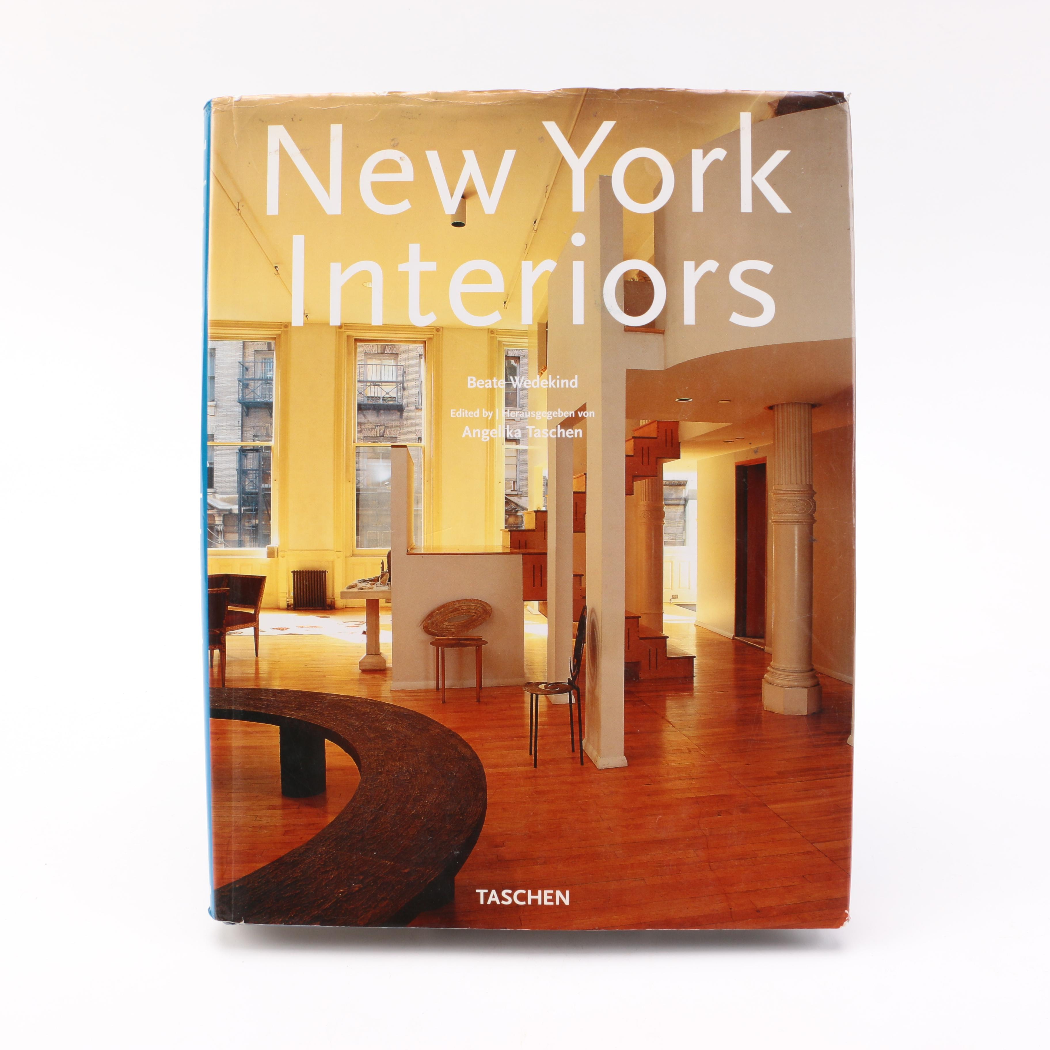"1997 ""New York Interiors"" by Beate Wedekind"
