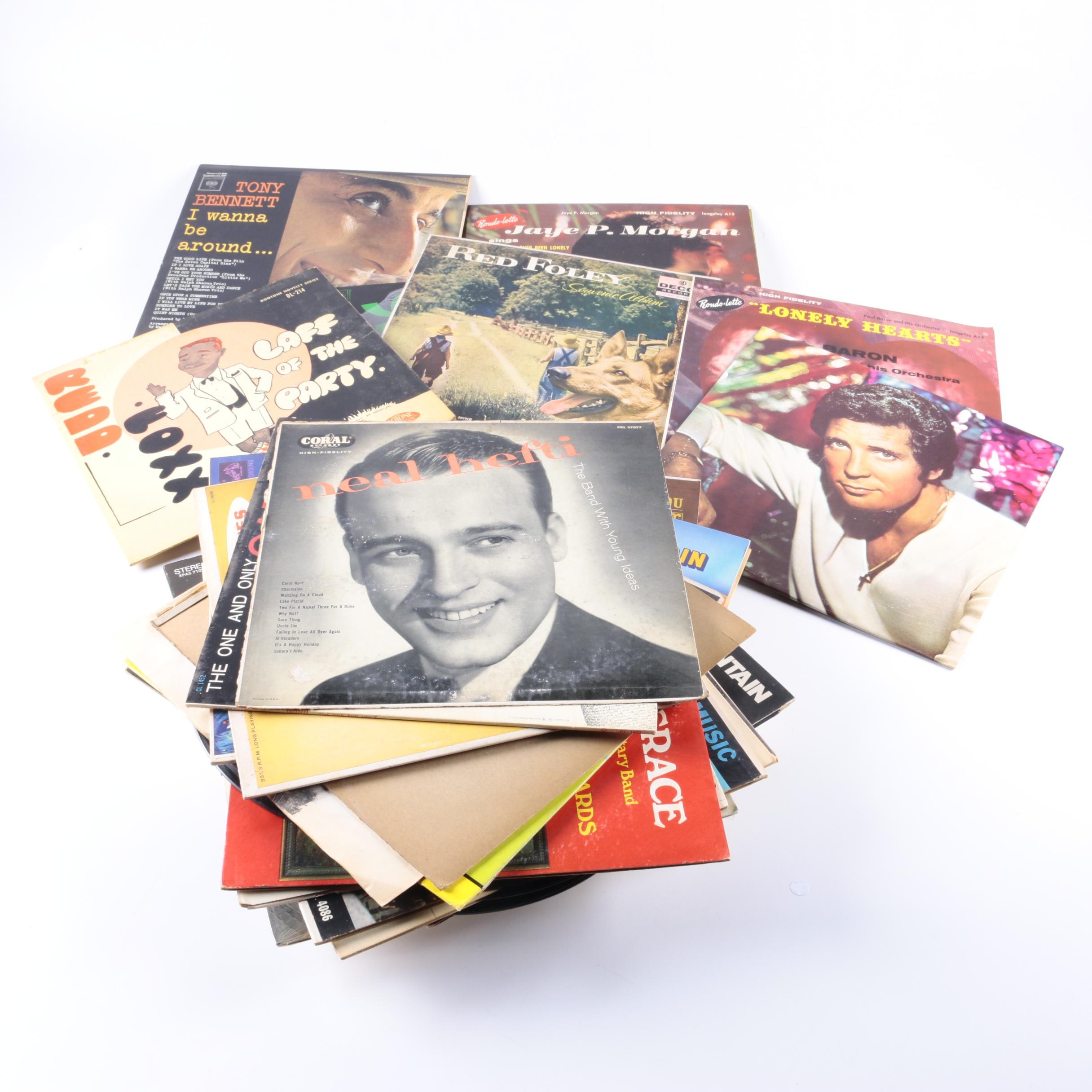 Tony Bennett and Other Vintage LPs