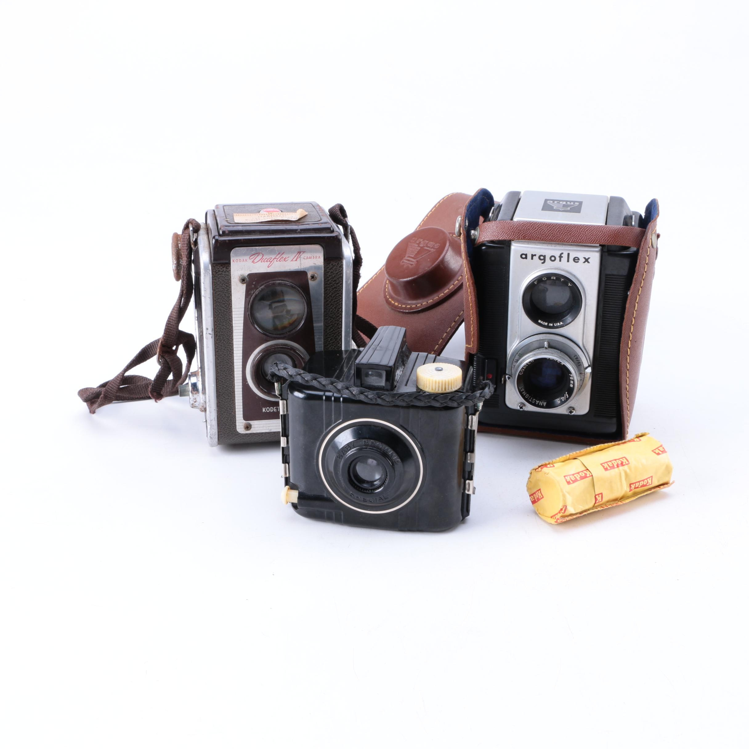Selection of Vintage Box Cameras