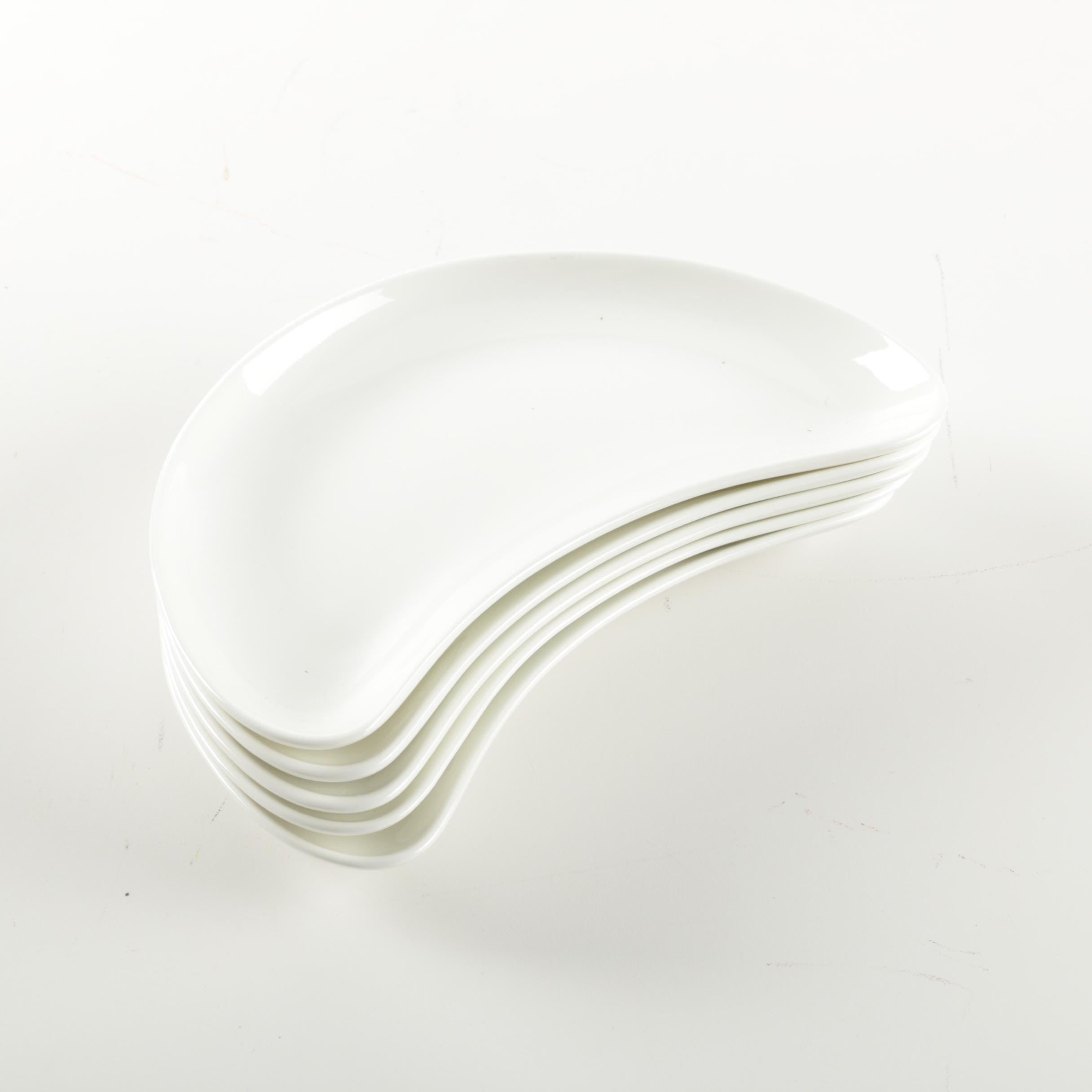 Wedgwood Porcelain Crescent Bone Dishes