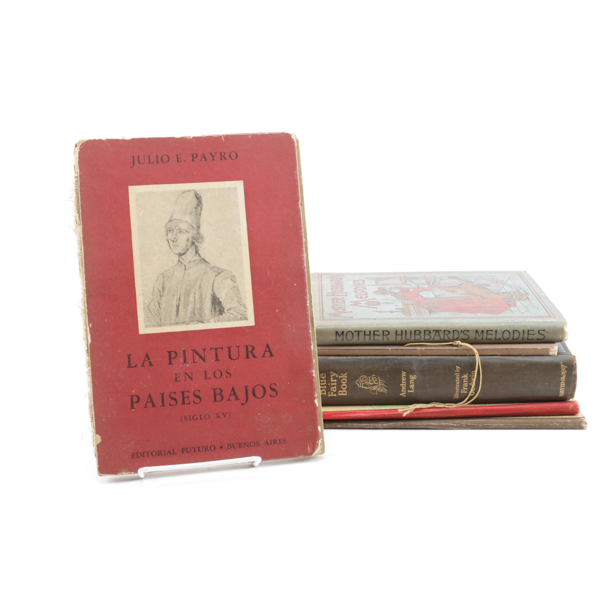 Vintage and Antique Books Including Children's Books