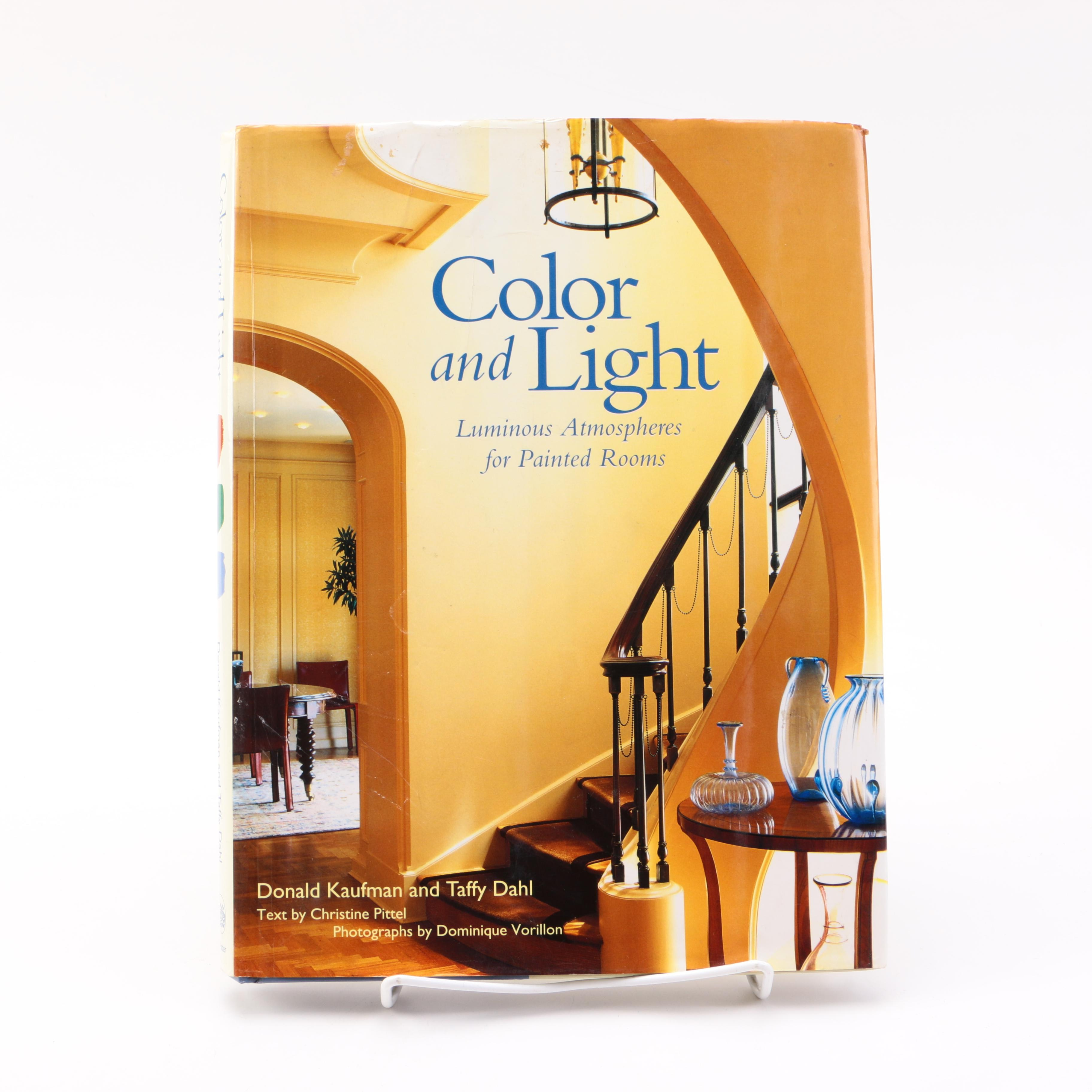 "1999 First Edition ""Color and Light: Luminous Atmospheres for Painted Rooms"""