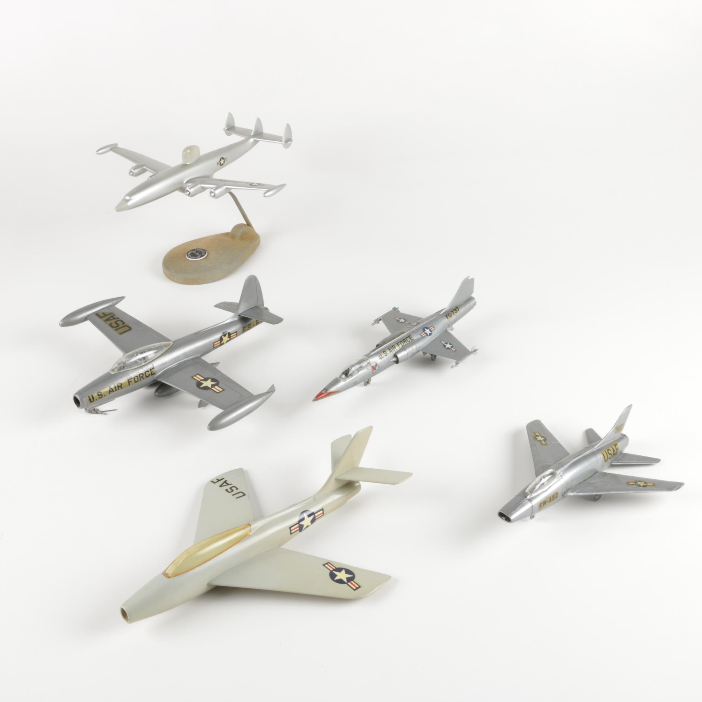 Assorted Model United States Air Force Planes