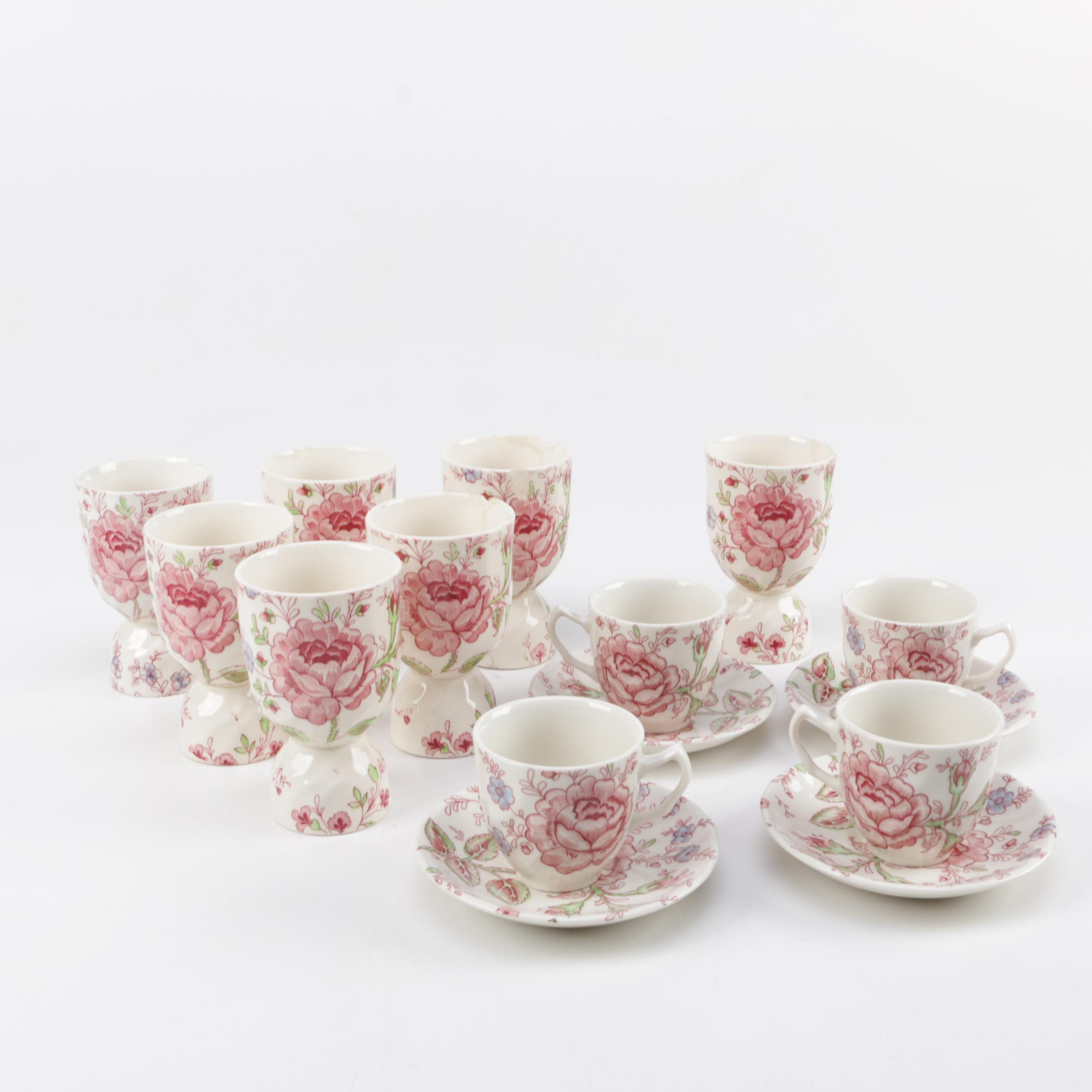 """Johnson Brothers """"Rose Chintz"""" China Collection"""