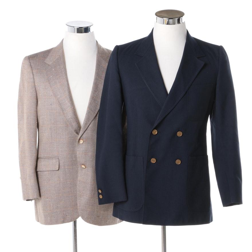 f7cdcee56bd Men's Vintage Blazers Including Yves Saint Laurent | EBTH