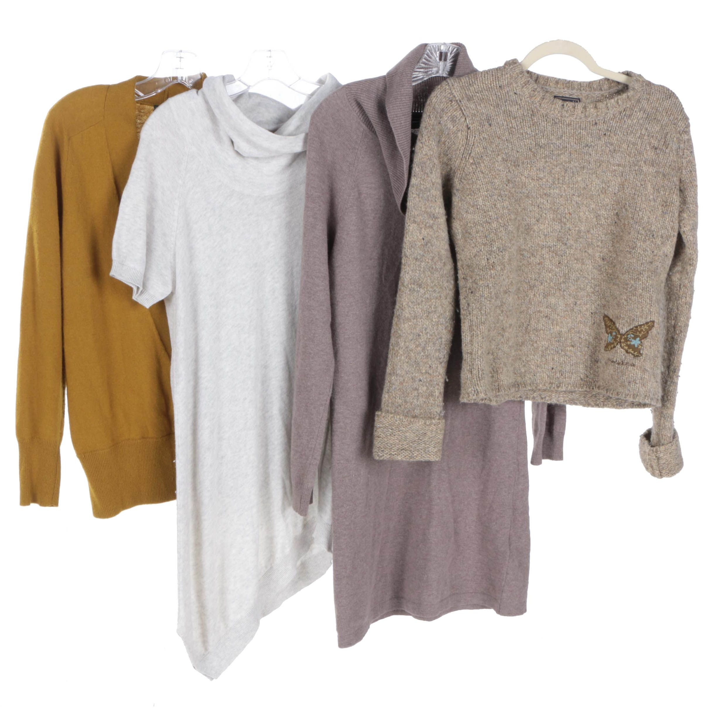 Womens Sweaters With Massimo Dutti And Theory Ebth
