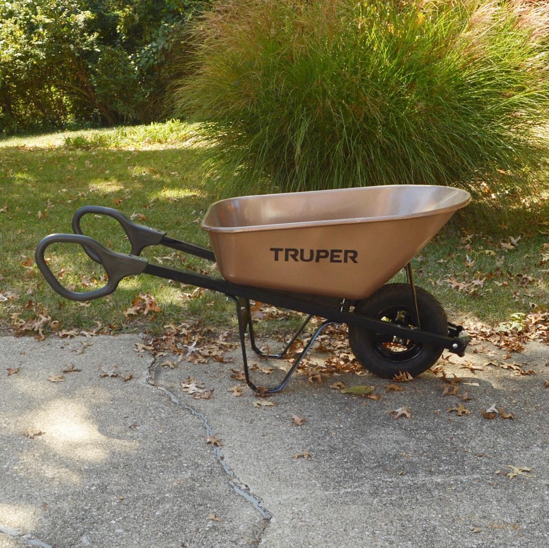 Truper 6cu. ft Powder Coat Wheelbarrow