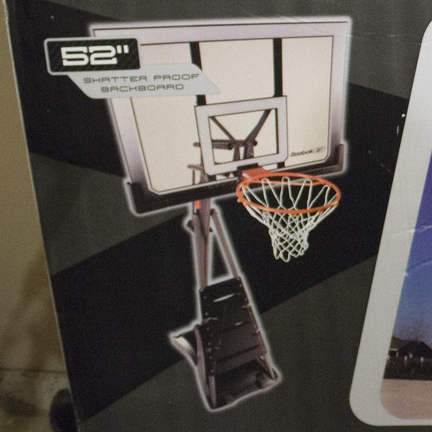 separation shoes 46a29 fd51c Reebok Basketball Hoop   EBTH