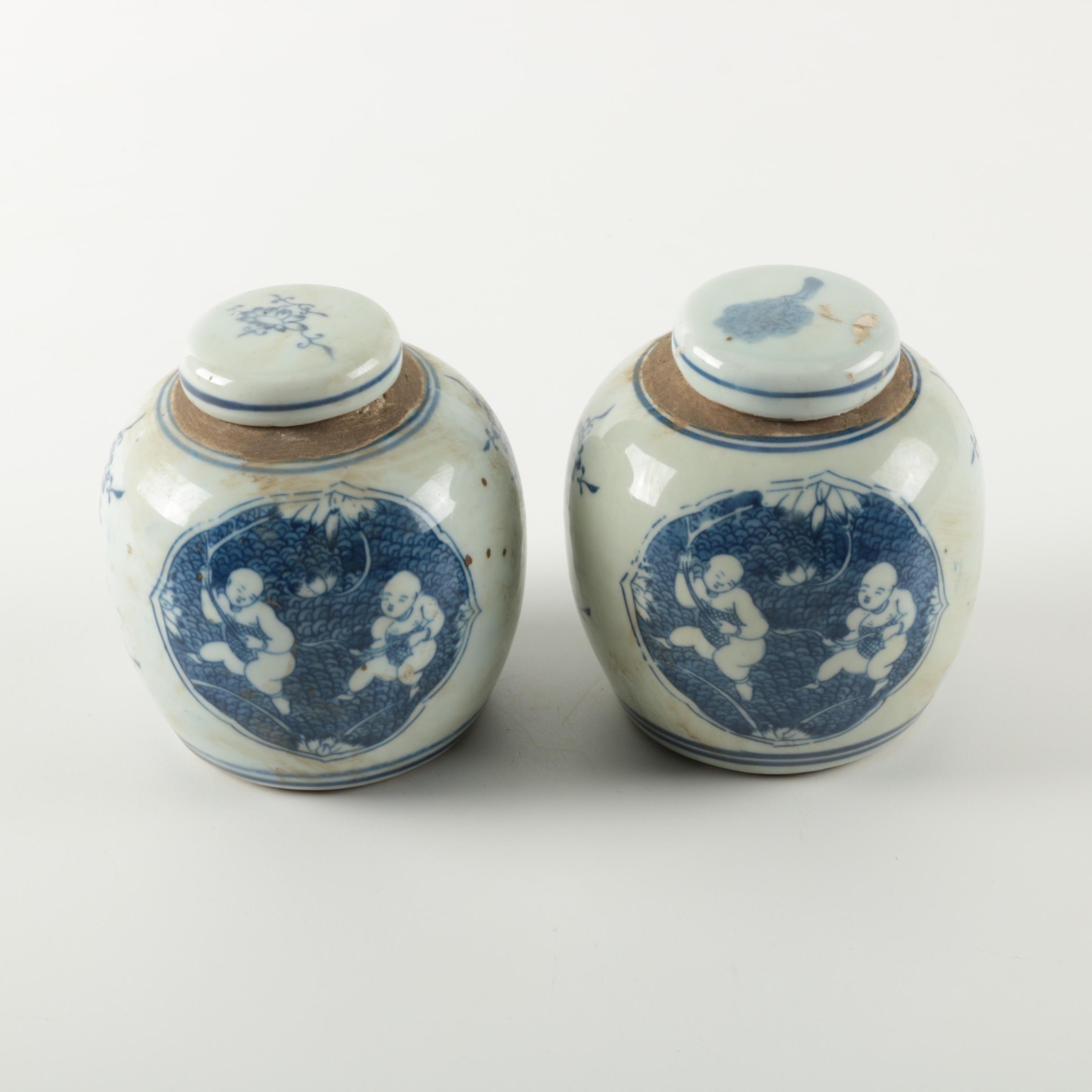Chinese Ginger Jars