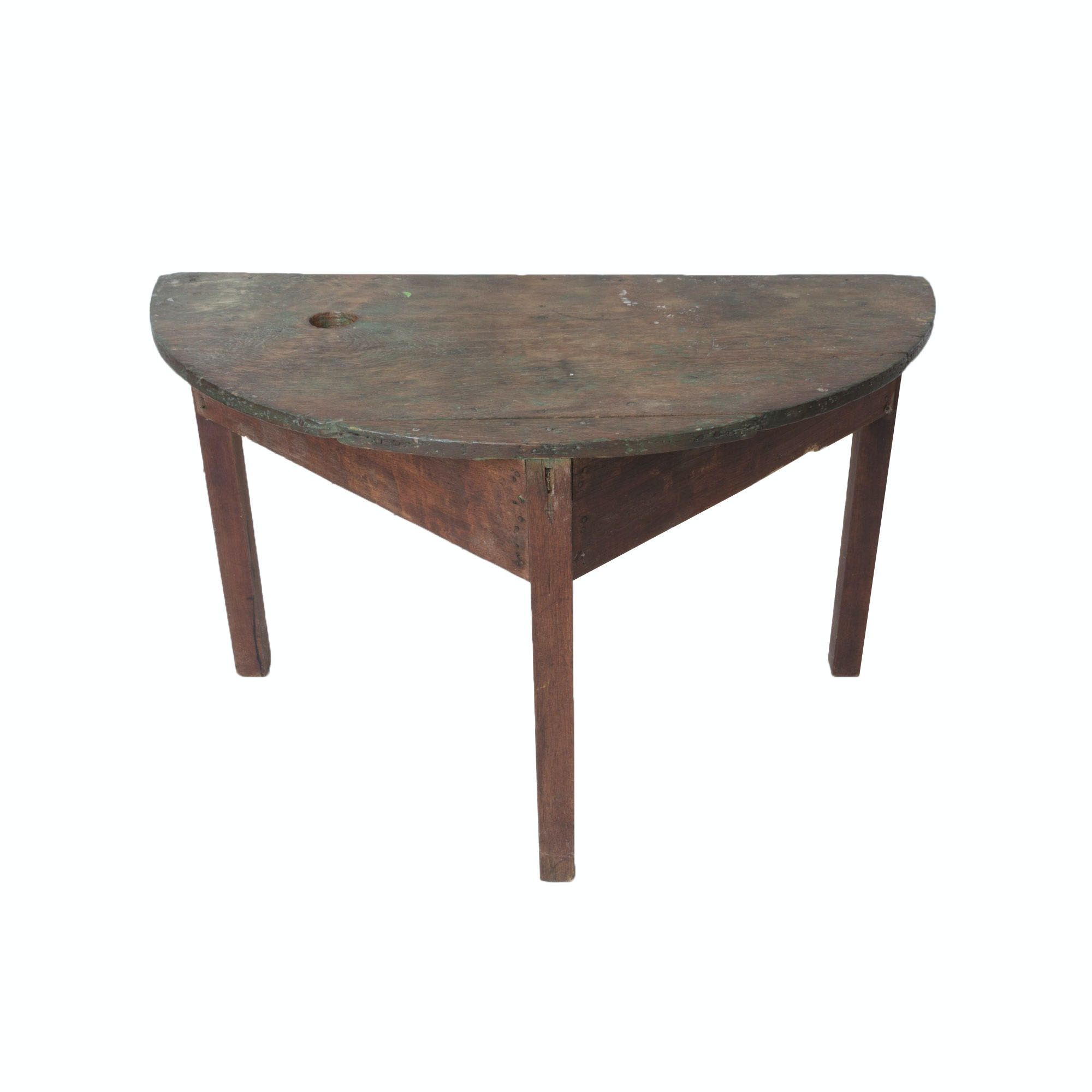 Handcrafted Country Console Table