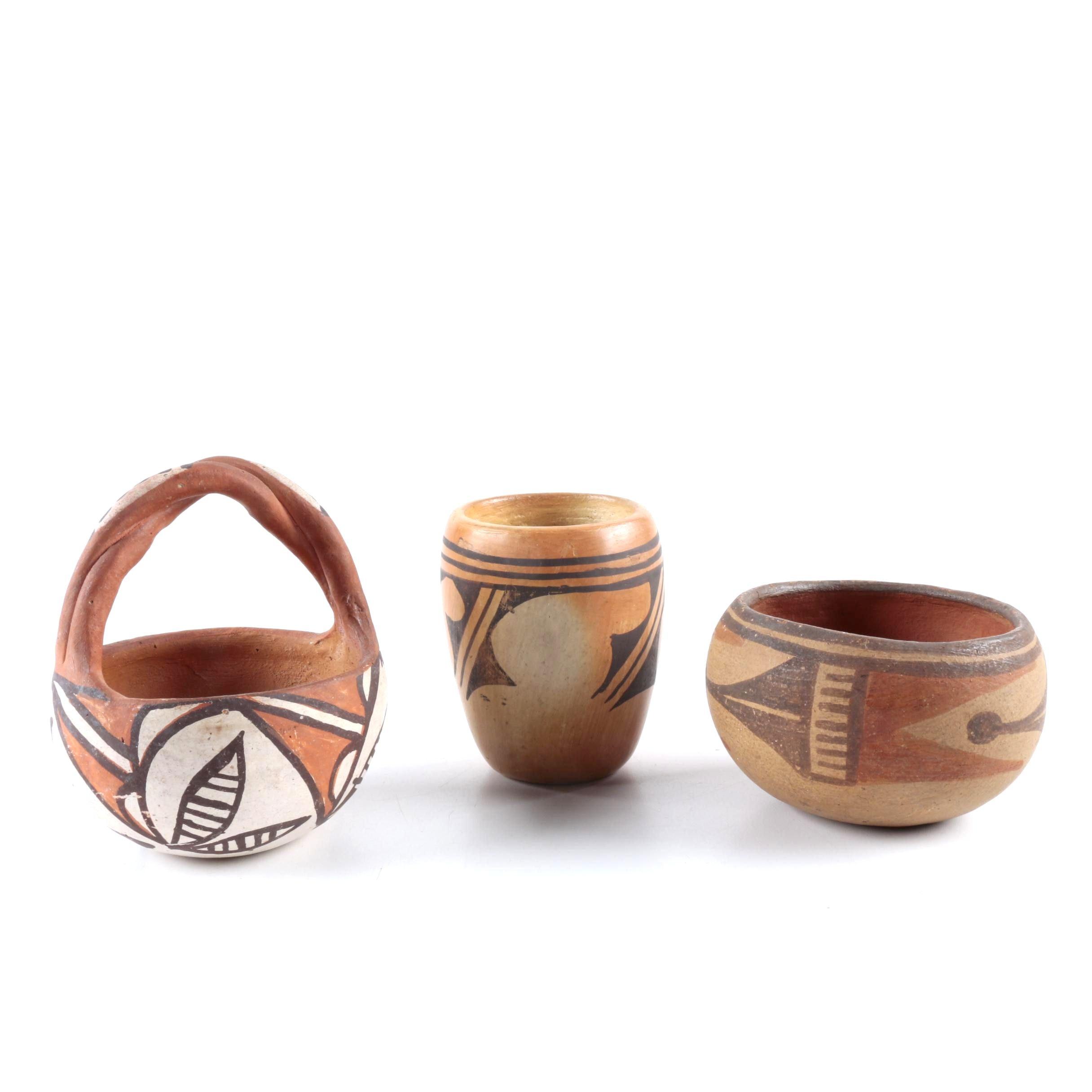 Acoma Native American-Style Pottery