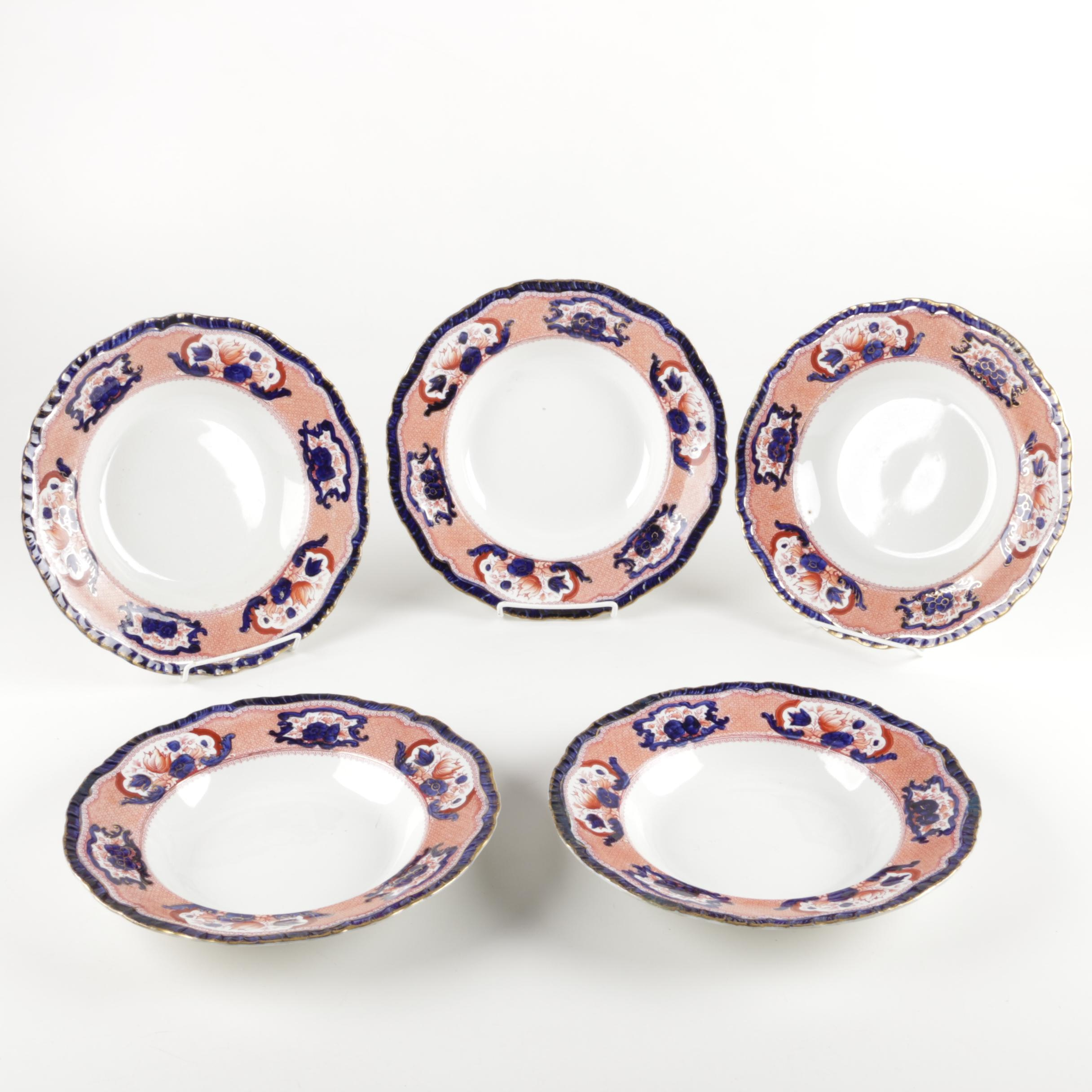"Royal Semi-Porcelain ""Victorian"" Bowls"