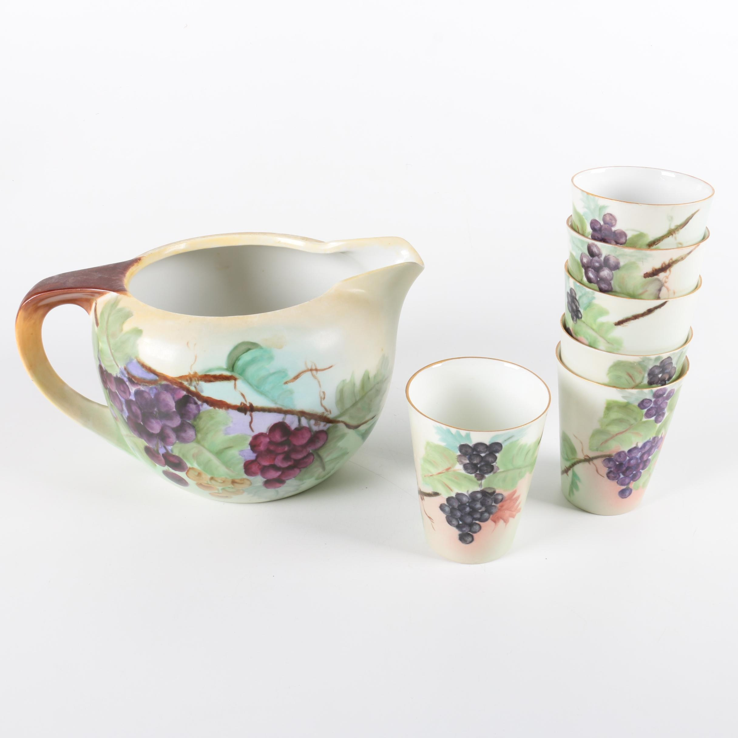 Vintage Noritake Hand Painted Porcelain Serveware
