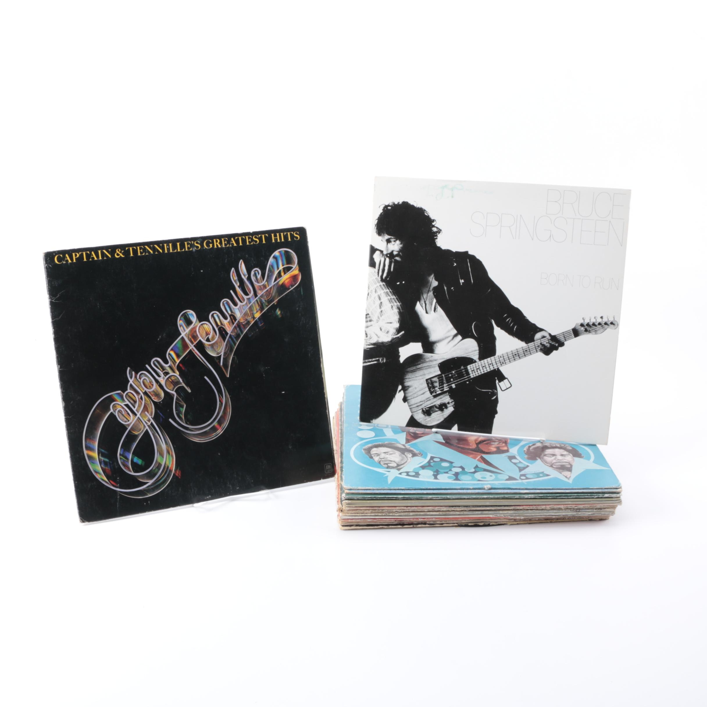 Springsteen, Neil Young and Other Folk, R&B and Classic Rock LPs