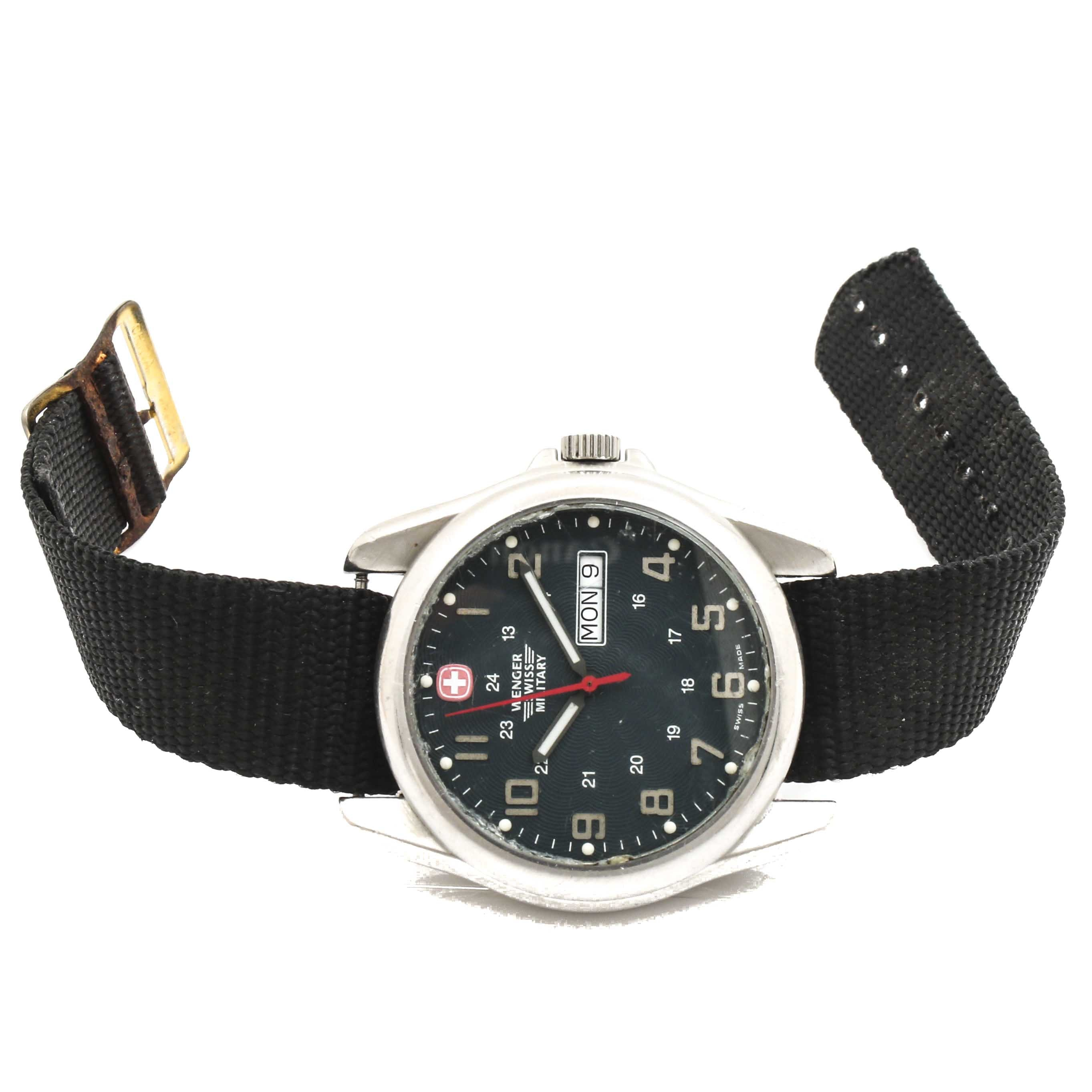 Wenger Swiss Military Stainless Steel Wristwatch