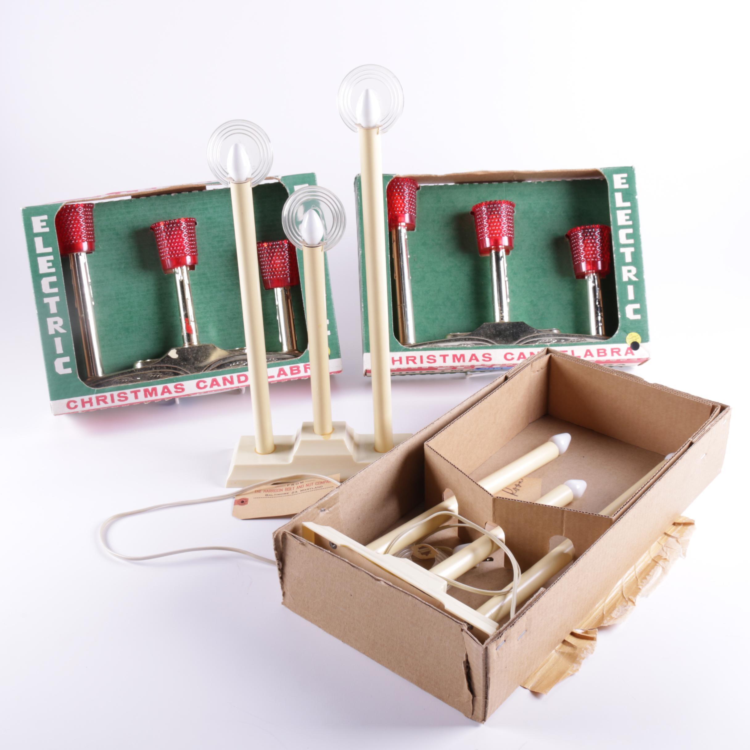 Vintage Electric Candelabras