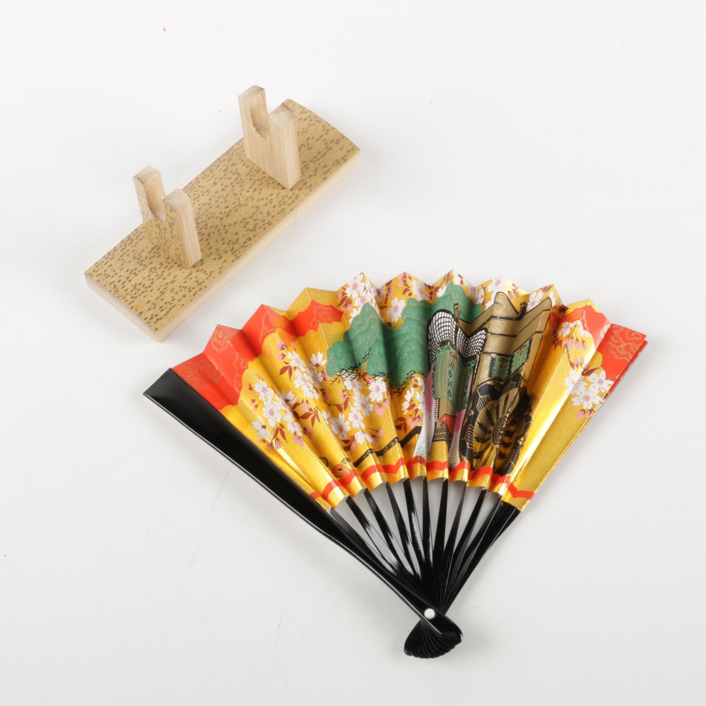 Eastern Asian Inspired Decorative Fan