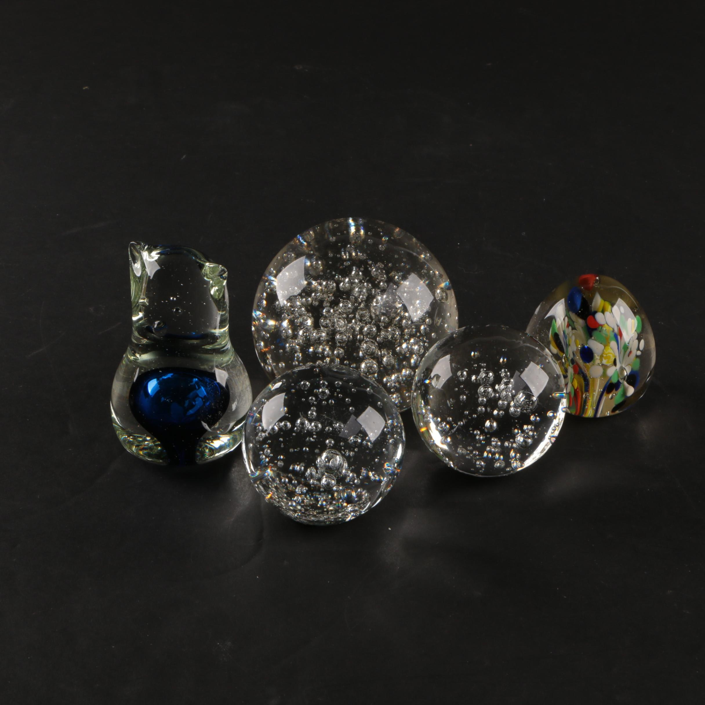 Art Glass Paper Weights
