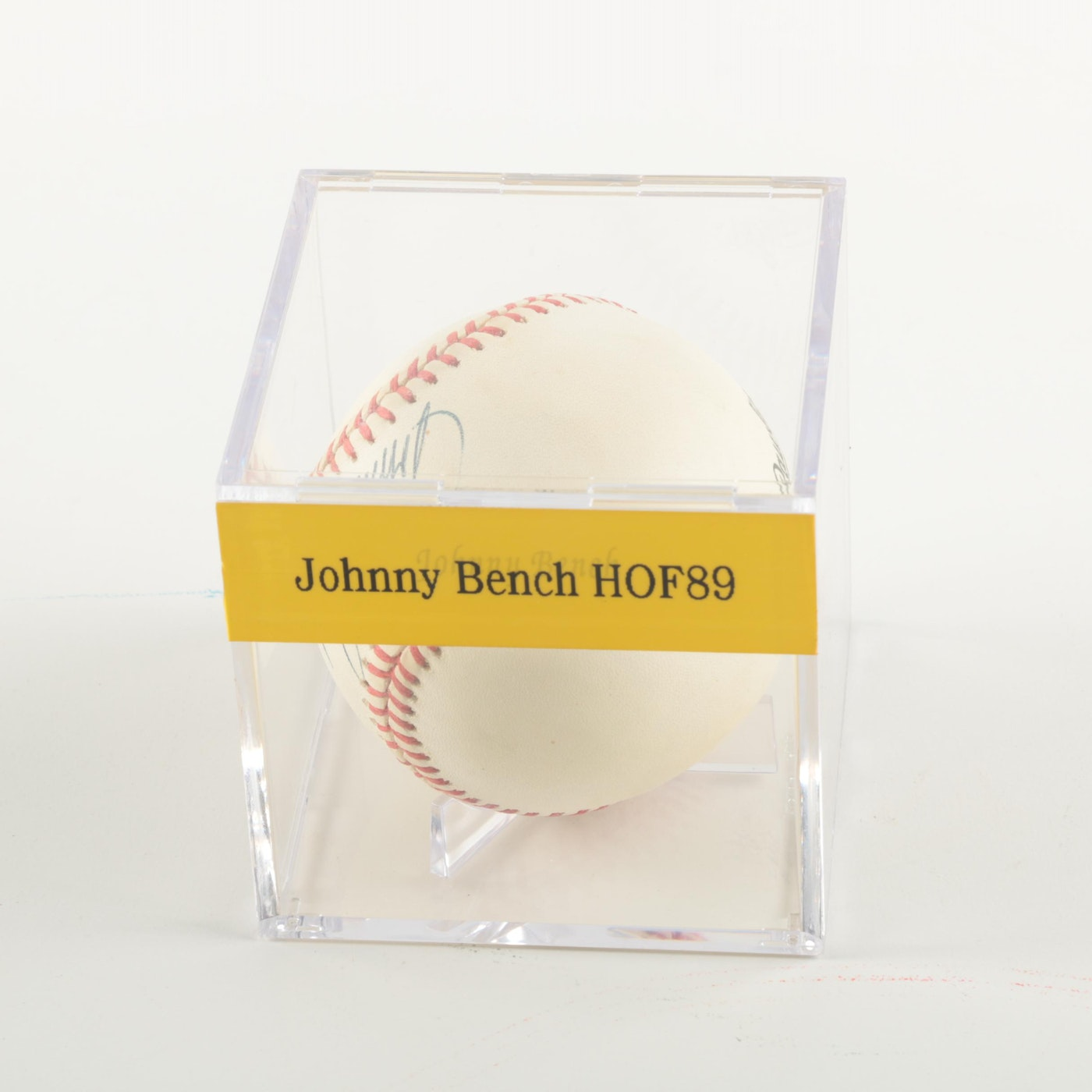 Johnny Bench Autographed Baseball Ebth