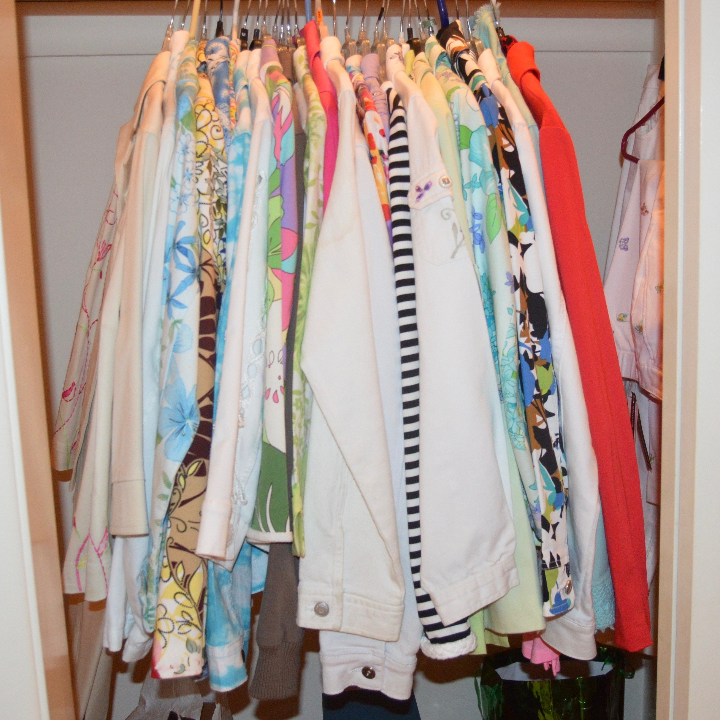 Large Assortment of Women's Jackets and Shirts