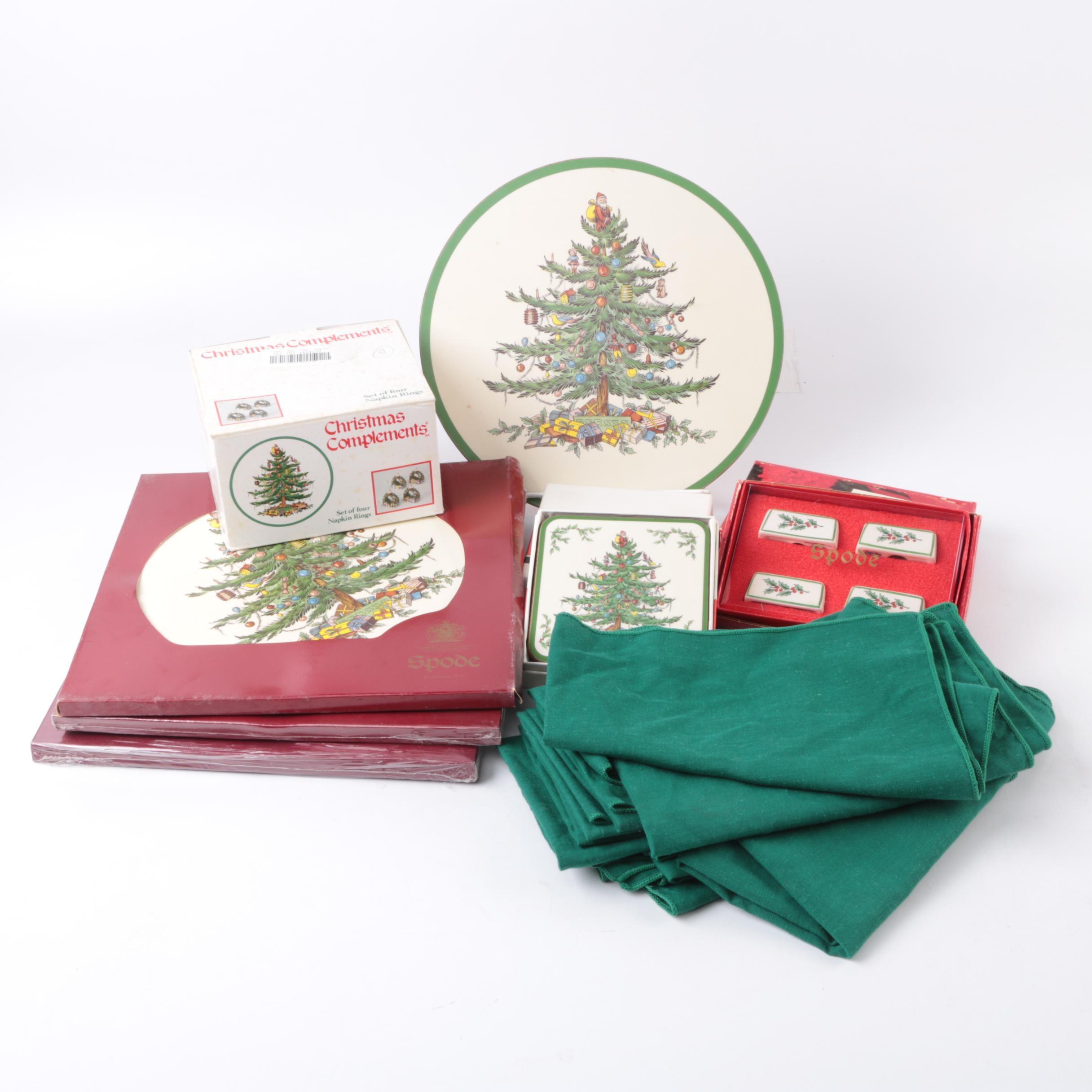Collection of Spode Seasonal Table Decor