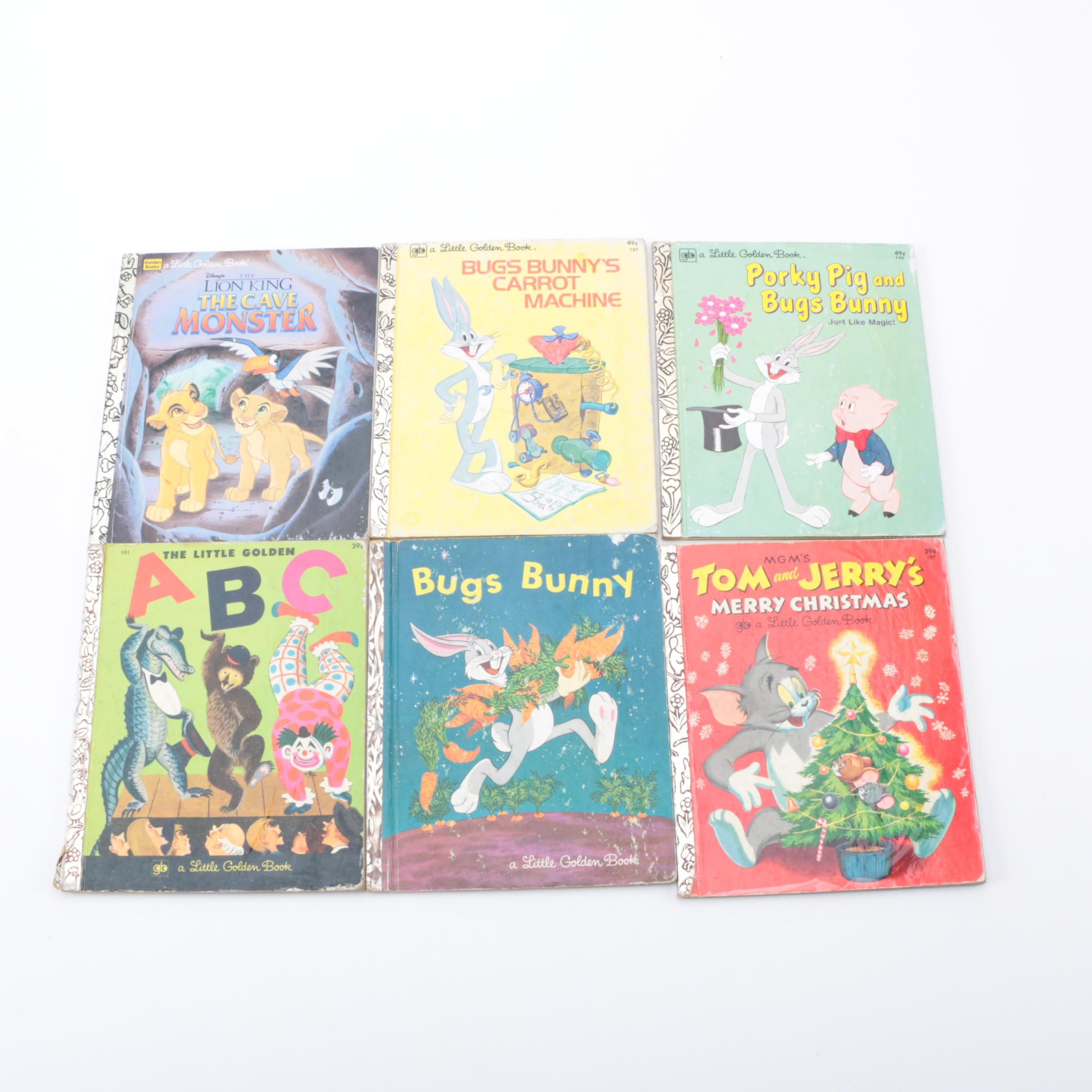 "Collection of ""Little Golden Books"""