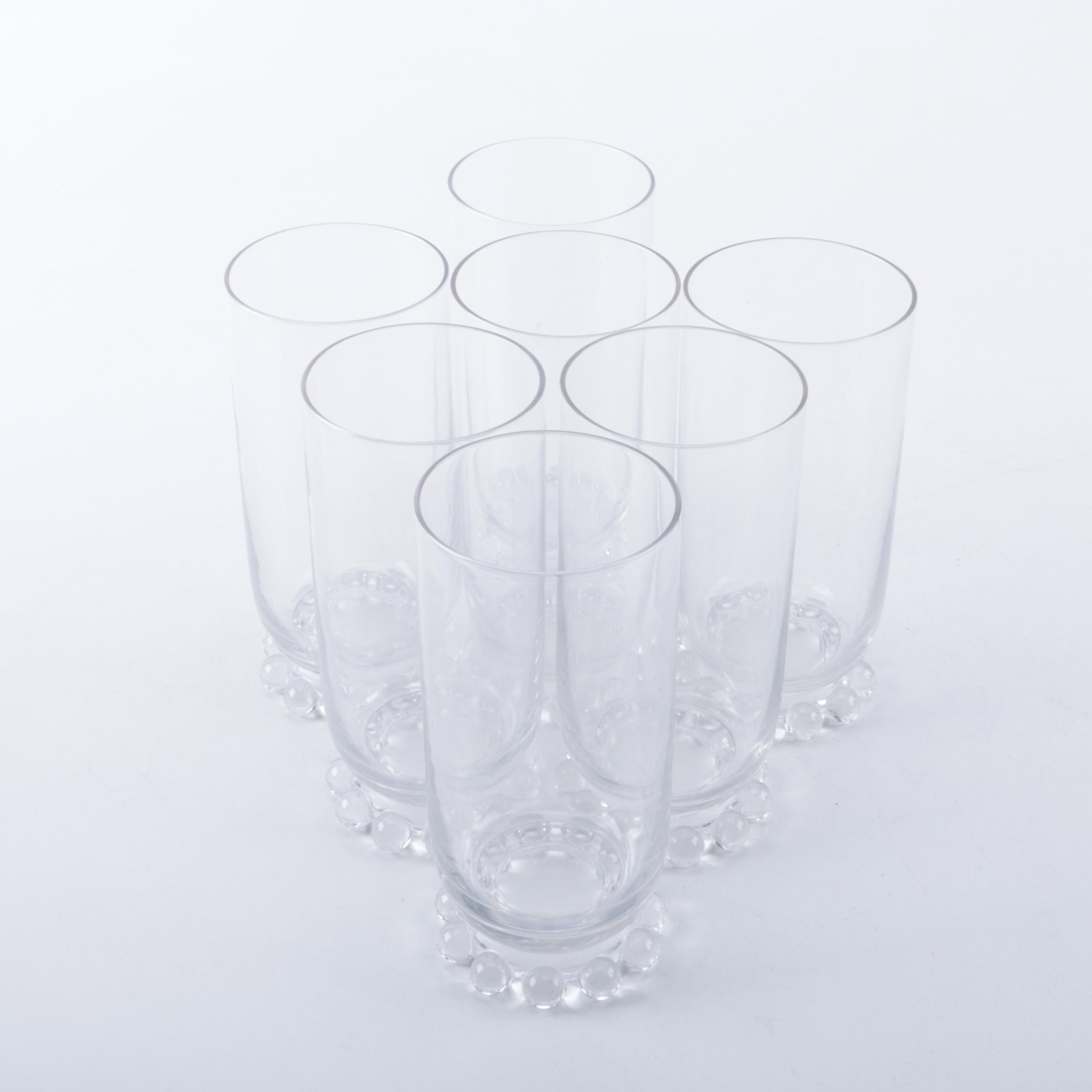 """Collection of Vintage Imperial """"Candlewick"""" Glassware"""
