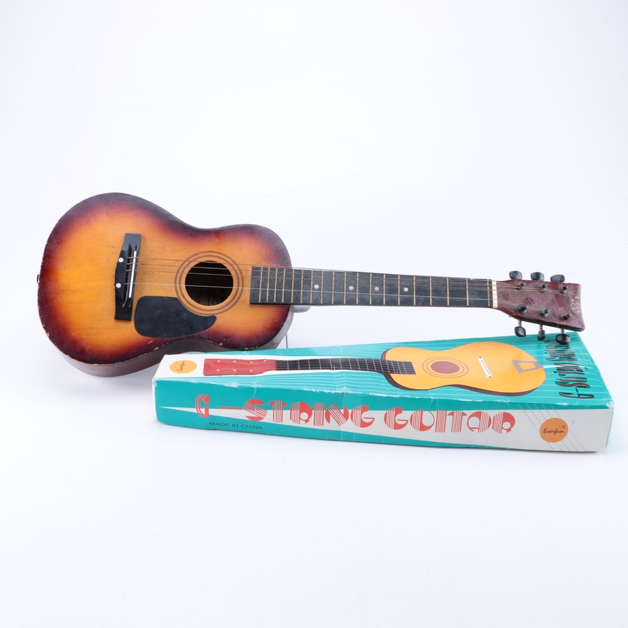 first act and everfun children 39 s acoustic guitars ebth. Black Bedroom Furniture Sets. Home Design Ideas
