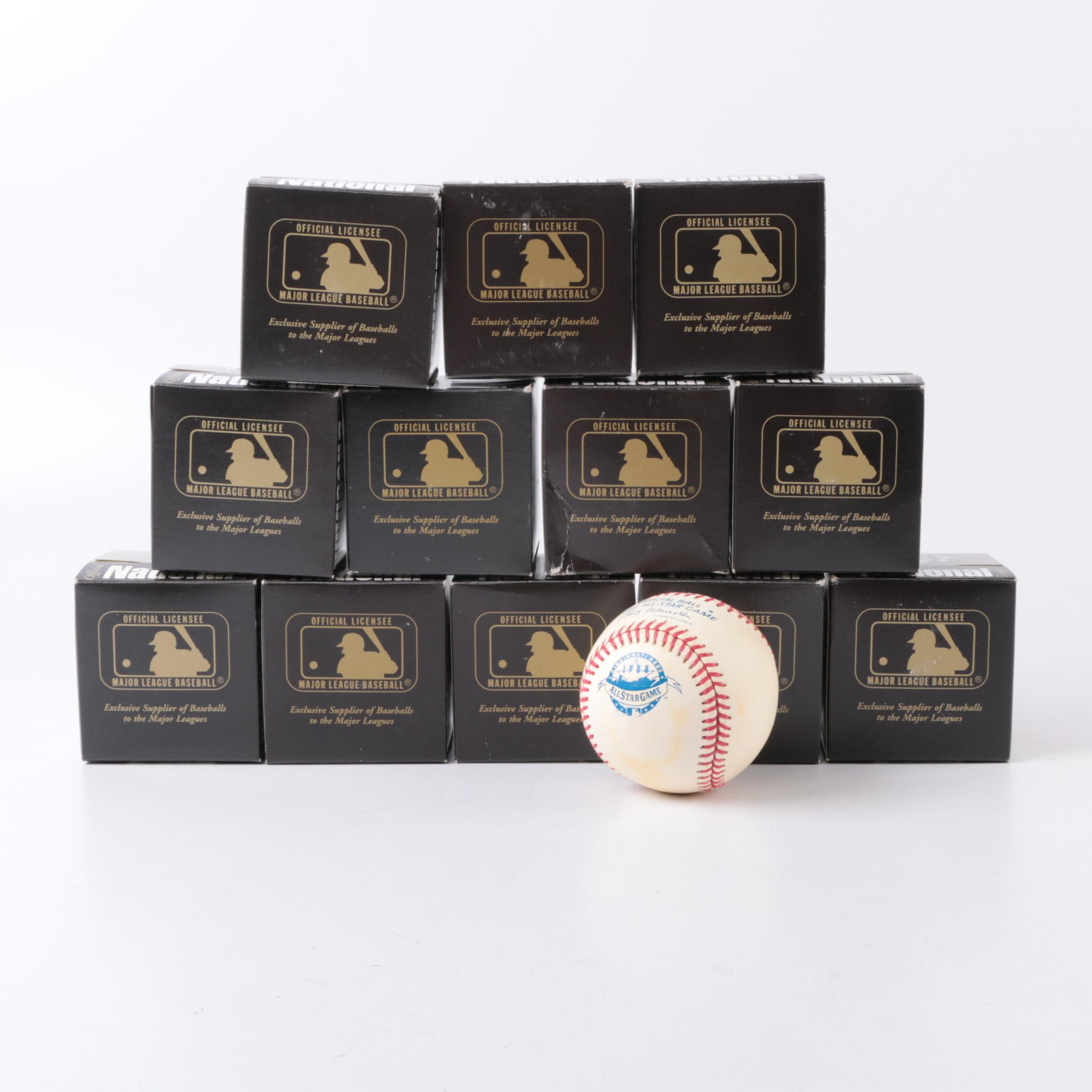 Collection of Rawlings Baseballs