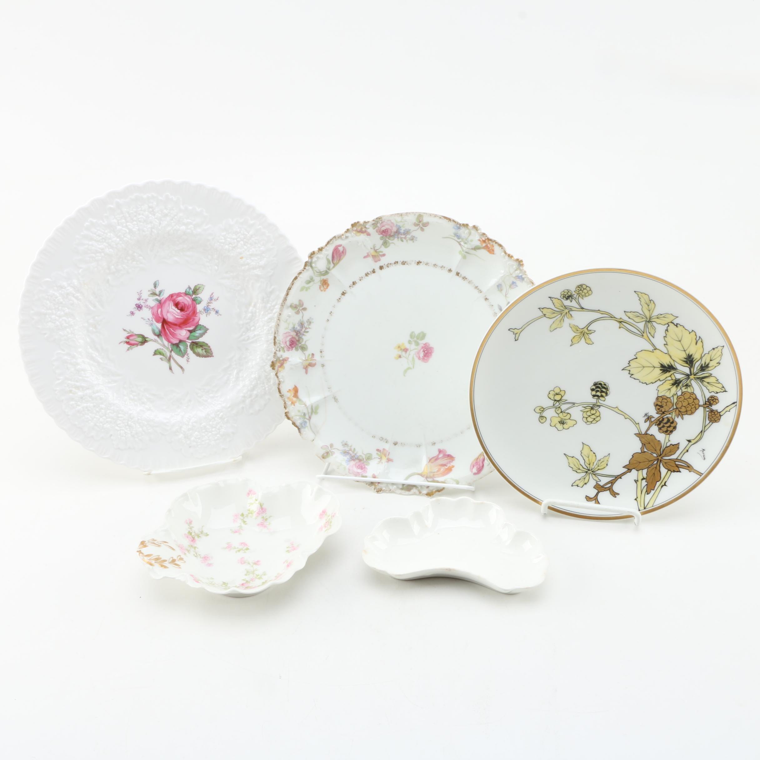 Porcelain Tableware Including Antique John Maddock & Sons