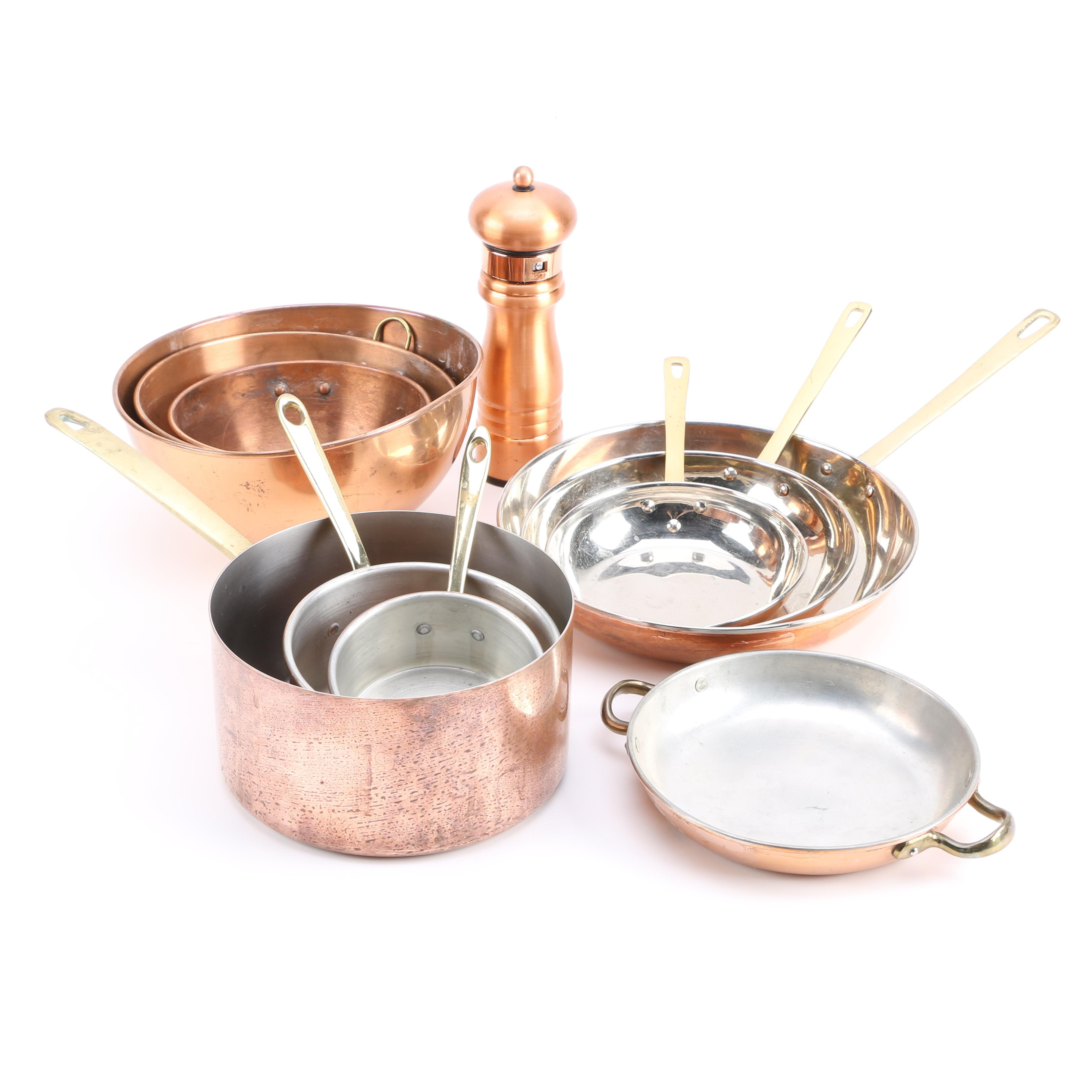 Copper Cookware and Kitchen Accessories